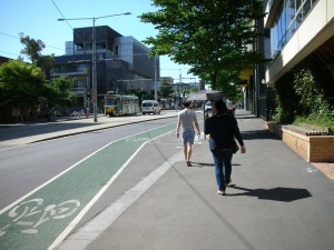 自転車のためのレーン