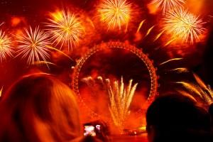 photo credit: London Eye Fireworks - New Year's Eve via photopin (license)