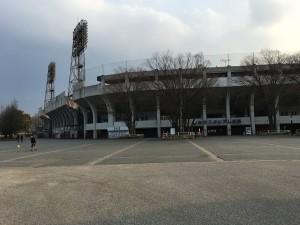 野球場である。