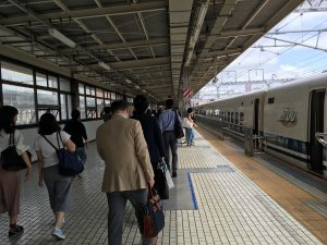 浜松駅、新幹線ホーム